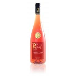 Cabernet d'Anjou rosé demi sec 20178 puis 2019