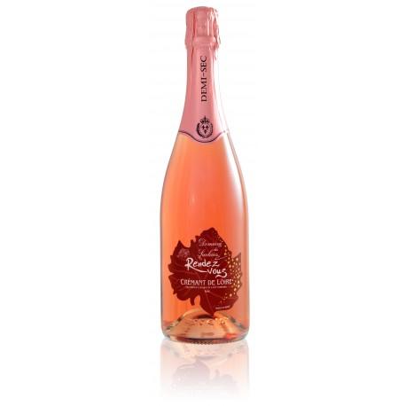 Crémant de Loire Rosé Demi sec